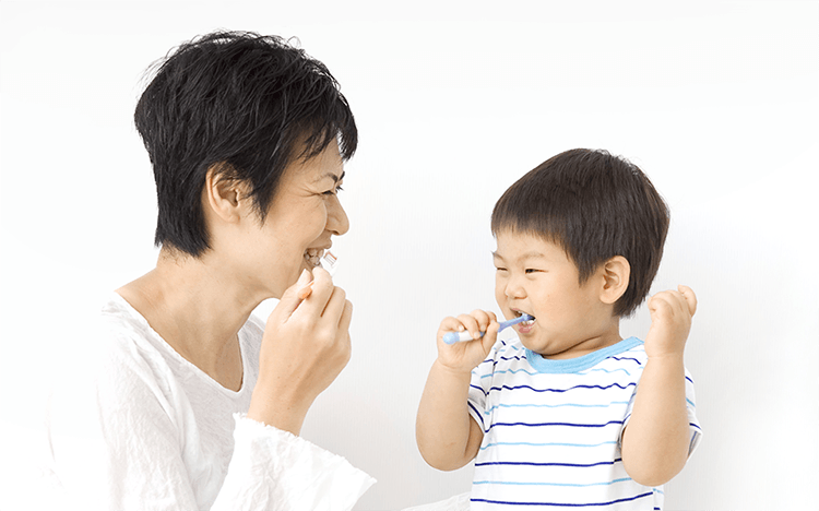 健康な乳歯を守る