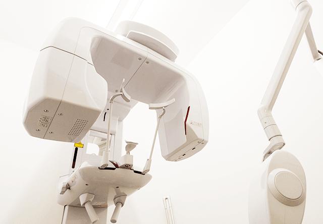 CT撮影による精密な検査