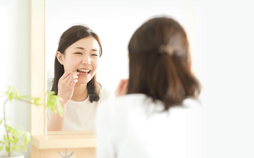 歯の寿命を3倍延ばせます